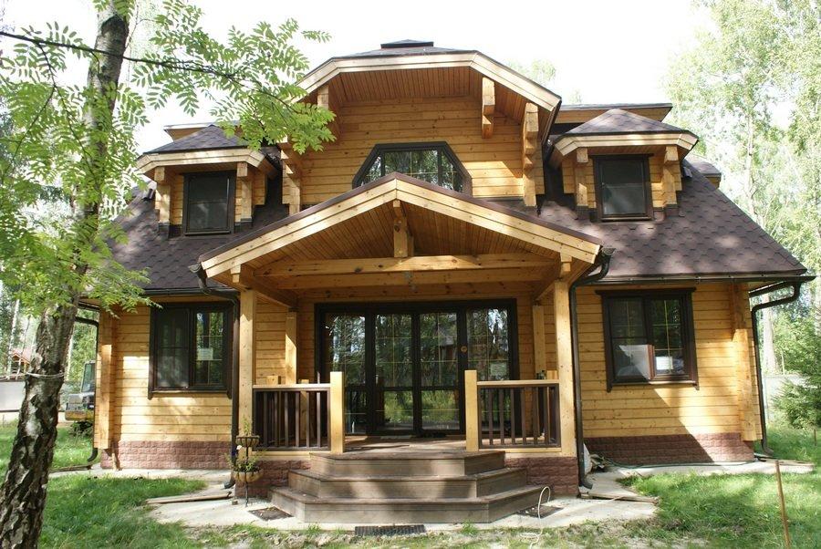 Как сделать деревянный дом современным 891